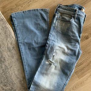 Hollister distress jeans-